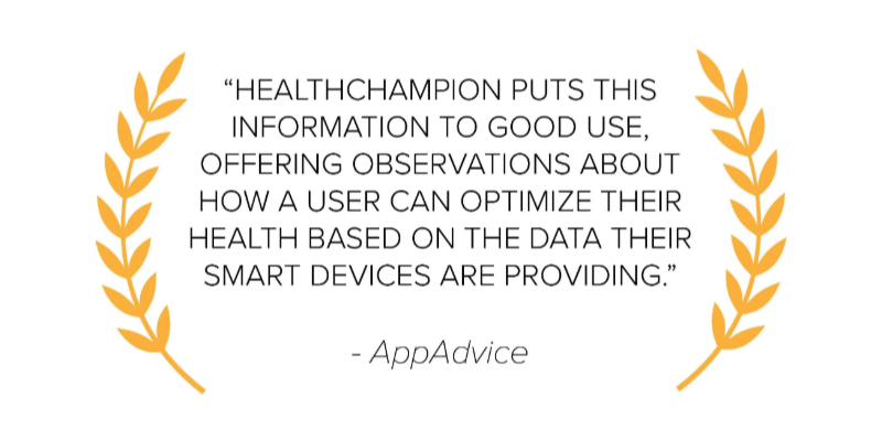 App Advice HealthChampion