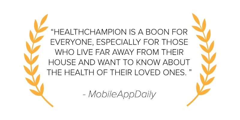 MobileAppDaily HealthChampion