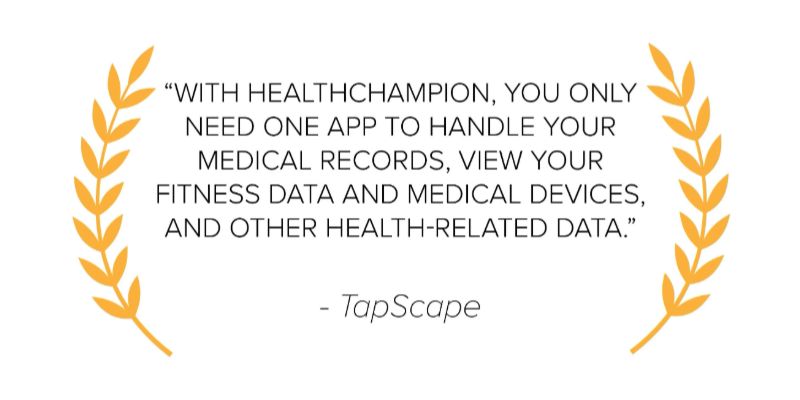 TapScape HealthChampion