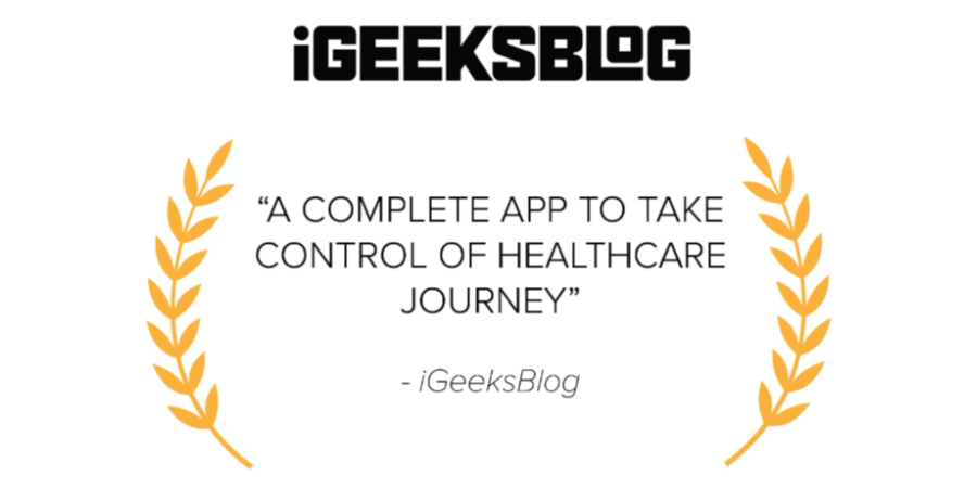 IGeeksblog Raves About HealthChampion Symptom Tracking Thumbnail