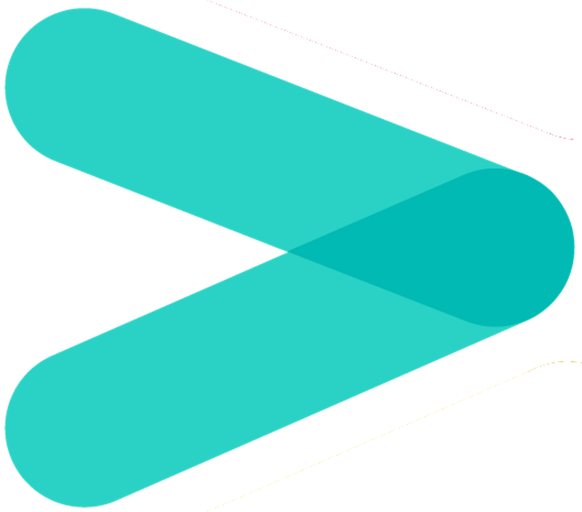 HealthChampion Arrow Teal Rightward